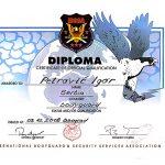 DIPLOMA OD ORGANIZACIJE IBSSA-1
